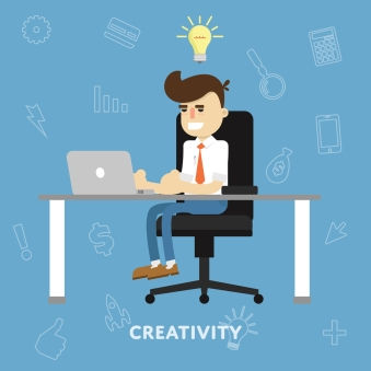 Creative ideas business concept