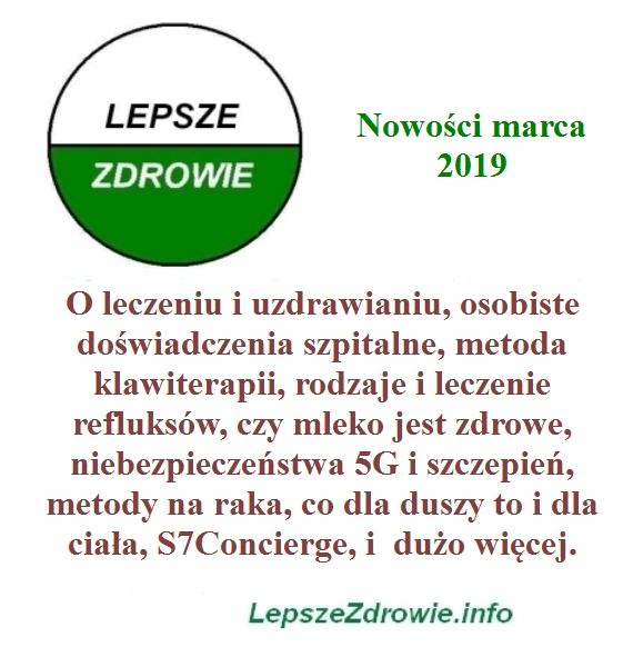 nowości marcowe LepszeZdrowie.info
