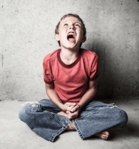 krzyk dziecka